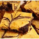 Dvoubarevné brownies