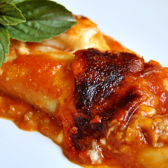 The Daring Cooks' June 2012 Challenge – Cannelloni