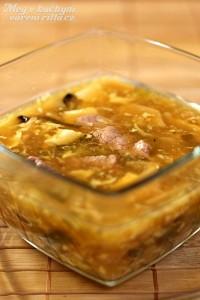 Pikantní kyselá polévka (Pekingská)