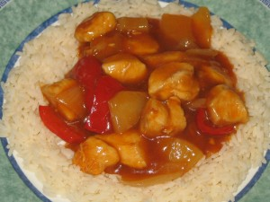 Sweet & Sour Chicken…